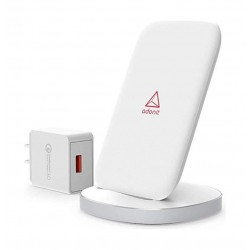 Adonit Convenient Qi Fast Wireless Charging Stand - White