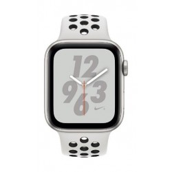 8cc4be3b7bf18 Apple Watch Nike+ Series 4 GPS 40mm Silver Aluminum Case with Pure  Platinum Black Nike