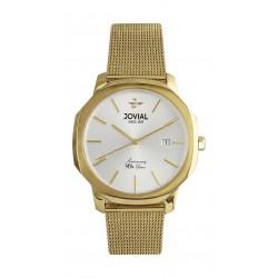 Jovial 32mm Ladies Analog Fashion Metal Watch - (4773-LGMQ-01)
