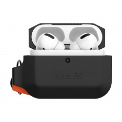 Urban Armor Gear Airpods Pro Silicone Case (10225K114097) - Black / Orange