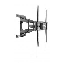 حامل حائط بحركة كاملة من ونسا لتلفزيونات ٣٢ إلى ٦٥ بوصة – أسود - (PSW792MAT)