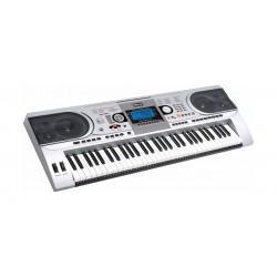 لوحة مفاتيح موسيقية من ونسا ٦١ مفتاح – فضي - (MK-935)
