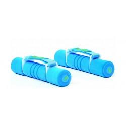 دمبل بمسكة ناعمة ١ كيلو جرام من ريبوك – أزرق - (RAWT-11061)