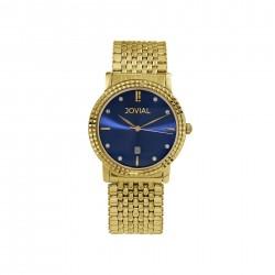 ساعة جوفيال العصرية النسائية بعرض تناظري 40 ملم – سوار معدني - (5027-GGMQ-04) -ذهبي