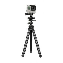 حامل ثلاثي مرن سلسلة إكستريم أكشن لكاميرا جو برو من باور – أسود (XAS-BPG)