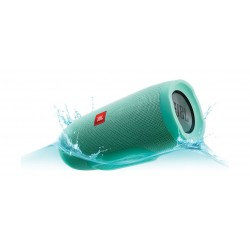 مكبر الصوت تشارج ٣ اللاسلكي المحمول والمضاد لتناثر الماء بتقنية البلوتوث من جى بي إل – أزرق مُخضر