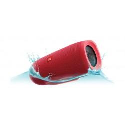 مكبر الصوت تشارج ٣ اللاسلكي المحمول والمضاد لتناثر الماء بتقنية البلوتوث من جى بي إل – أحمر