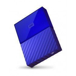 القرص الصلب الخارجي ماي باسبورت سعة ٢ تيرا بايت ومنفذ يو إس بي ٣,٠ من ويسترن ديجيتال - أزرق