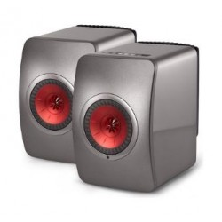 KEF wireless Wifi Bluetooth Speaker (LS50W) - Grey
