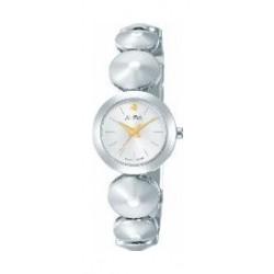 Alba Ladies Fashion Analog 22.5 mm Metal Watch (AH8365X1) - Silver