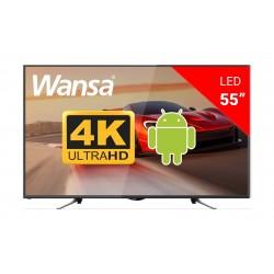 Wansa WUD55H7762SN Smart LED TV - Front View