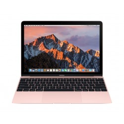 Apple MacBook Core-m3 8GB RAM 256GB SSD 12-inch Laptop (MNYM2AE/A) - Rose Gold