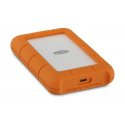 LaCie Rugged USB-C 4TB Portable Hard Drive (STFR4000800)