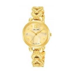 Alba Ladies Fashion Analog 28mm Metal Watch (AH8436X1) - Gold