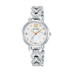 Alba Ladies Fashion Analog 28mm Metal Watch (AH8439X1) - Silver