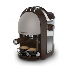 Morphy Richards Accents Espresso 1.25 Litter Coffee Maker (172005) - Pebble Brown