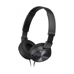 Sony Foldable Overhead Headset With Mic (MDR-ZX310/B) – Black