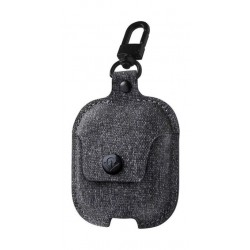Twelve South AirSnap Leather Protective Case For AirPods - Dark Grey