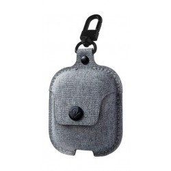 Twelve South AirSnap Leather Protective Case For AirPods - Light Grey