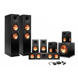 Klipsch RP-8000F/RP-504C/SPL-150/RP600M Speaker System Package