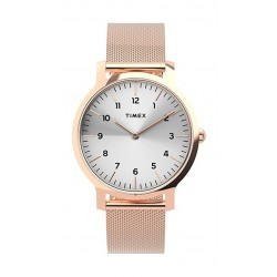 Timex 34mm Casual Ladies Analog Metal Watch - (TW2U22900) - Rosegold