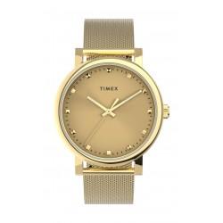 Timex 38mm Casual Ladies Analog Metal Watch - (TW2U05400) - Gold