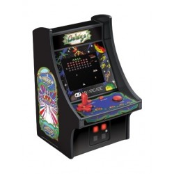 My Arcade 6.75-inch Collectible Retro Galaga Micro Player - Black