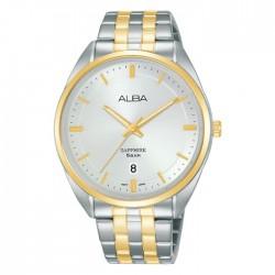 ساعة ألبا كاجوال رجالية معدنية  بحجم 41 ملم وبعرض تناظري (AS9L10X1)