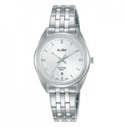 ساعة ألبا كاجوال معدنية  بحجم 29 ملم وبعرض تناظري للنساء (AH7V53X1)