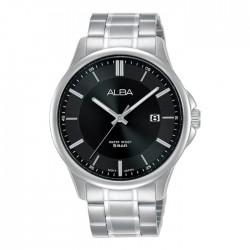 ساعة ألبا كاجوال رجالية معدنية  بحجم 41 ملم وبعرض تناظري (AS9L41X1)