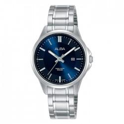 ساعة ألبا العصرية معدنية  بحجم 31 ملم وبعرض تناظري للنساء (AH7V89X1)