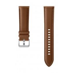Samsung Galaxy Watch3 Stitch 45mm Leather Strap (ET-SLR84LAEGWW) - Brown