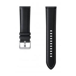 Samsung Galaxy Watch3 Stitch 45mm Leather Strap (ET-SLR84LBEGWW) - Black