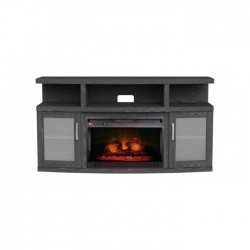 Wansa Upto 65-inch TV Stand with Fireplace Insert (WSM065F66)