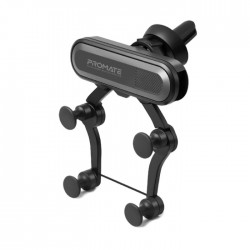 Promate Universal Anti-Slip Grip Mobile Car Grip Mount – Grey