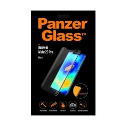 واقي الشاشة الزجاجي للحواف المنحنية لهاتف هواوي ميت٢٠ برو من بانزر (5324) - أسود
