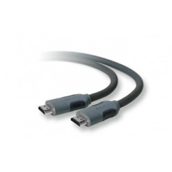 Belkin 3M HDMI Audio Video Cable - Black (F3Y017CP3M-BLK)