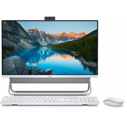 "Dell Inspiron 5400 Intel Core i5 11th Gen. 8GB RAM 1TB HDD + 256GB SSD 23.8"" FHD Infinity Touch All-In-One Desktop - Silver"
