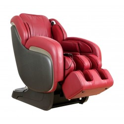 كرسي التدليك أوتو إليت مع علاج حراري ومكبر صوت – أحمر – (ET-01)