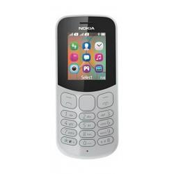 هاتف نوكيا ١٣٠ الذكي – ٤ ميجا بكسل – يدعم خطين – شاشة ١,٨ بوصة – أسود (DS TA-1017)