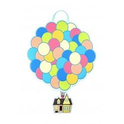 Funko Loungefly x Disney Up Balloon House Convertible Backpack - (LF-WDBK0947)