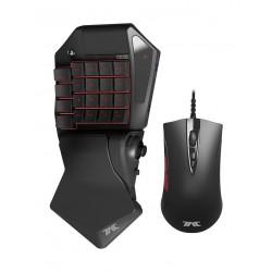 ماوس ولوحة مفاتيح الألعاب السلكية تاك برو من هوري - أسود
