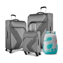 American Tourister Stanfordd Luggage Set + Backpack - Grey