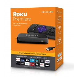 Roku Premiere 3920R 4K HDR Streaming Device
