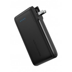 RAVPower Ace 10050mAh Portable Power Bank with AC Plug (RP-PB066) - Black