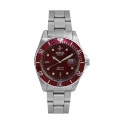 Jovial 41mm Analog Gent's Metal Watch - (6700-GSMQ-08)