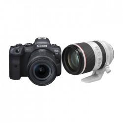 Buy EOS R6 Mirrorless Digital Camera + 24-105MM + RF 70-200MM F2.8L IS USM Lens in Kuwait | Buy Online – Xcite