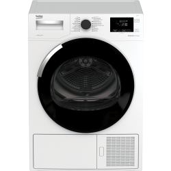 نشافة ملابس بيكو بسعة 10 كيلو - مضخة حرارية - DSY10PB46W - أبيض