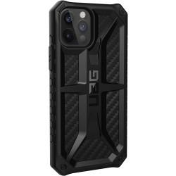 UAG Monarch Carbon iPhone 12 Pro Back Case - Black