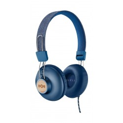 House of Marley Positive Vibration 2.0 Wired Headphone - Denim Blue